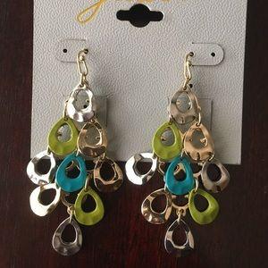 Green/Turquise Earrings